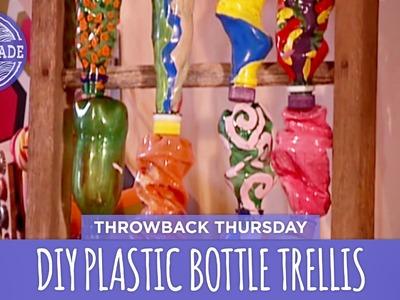 DIY Plastic Bottle Trellis - Throwback Thursday - HGTV Handmade