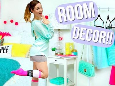 DIY Room Decor + Organization! AlishaMarie