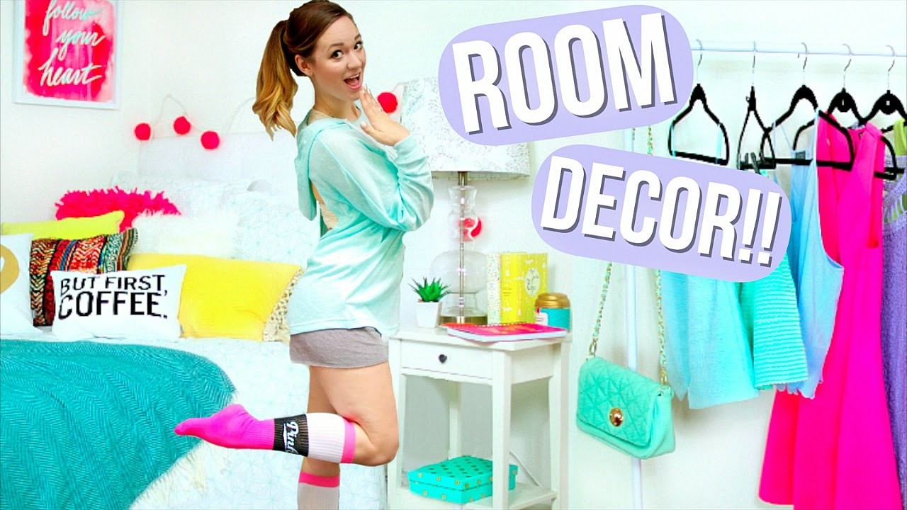 DIY Room Decor + Organization! AlishaMarie
