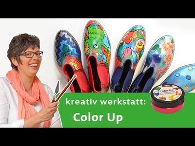DIY Tutorial: Stiefel gestalten mit Color Up von Viva Decor