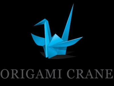 EASY origami crane instructions ♡ How to make origami CRANE