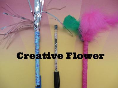 Facil : Como decorar  plumas - Creative Flower