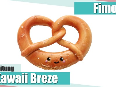 [Fimo Friday] Kawaii Pretzel Fimo Tutorial. Kawaii Pretzel polymer clay tutorial | Anielas Fimo