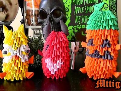 Halloween 3D Origami Creations 2012