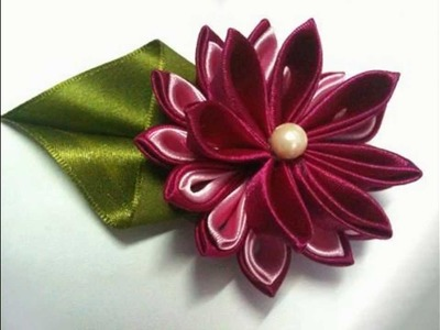 Handmade Satin Flowers - 1