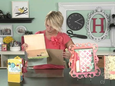 Heidi Swapp- Create To Remember: Back To Back Book Binding