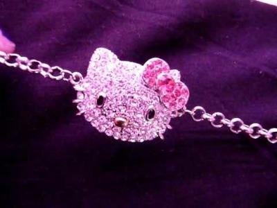HelloKittyGoodies - Hello Kitty Bling Bracelet