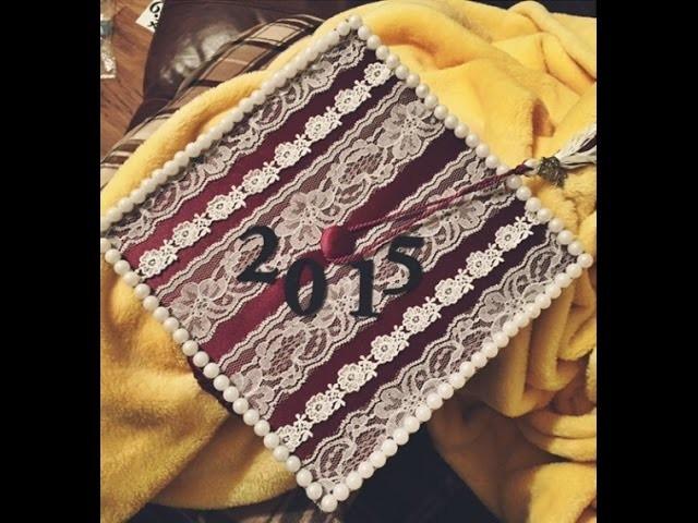 How I Decorated my Graduation Cap! | Class of 2015