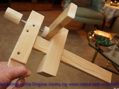 How to C. U. JMY. Wooden clamps.wmv