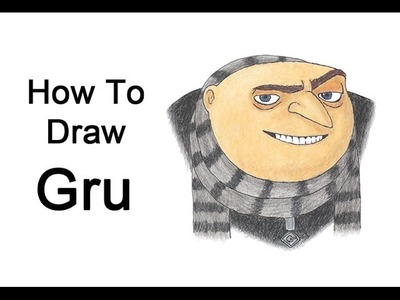 How to Draw Gru from Despicable Me