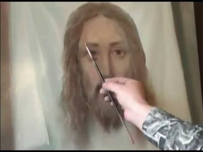 How to Draw Image of Jesus.