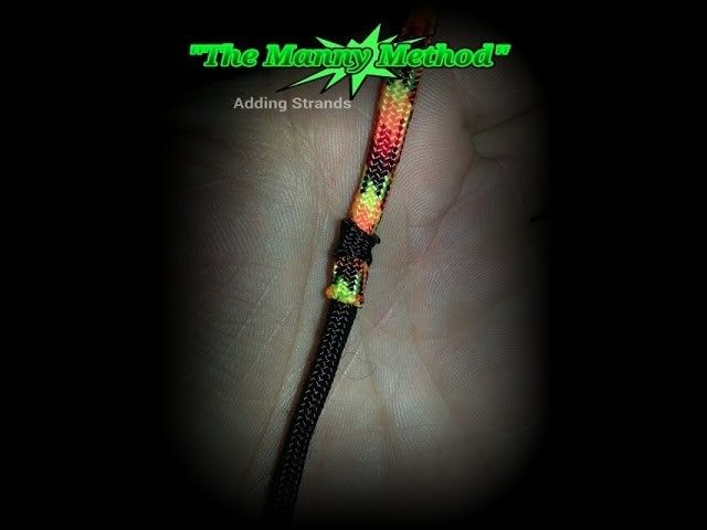 "How to Fuse paracord The ""Manny Method"" in reverse"