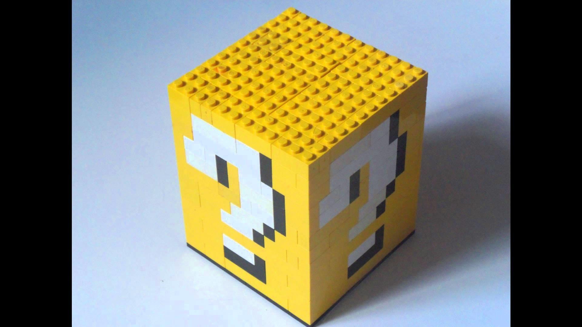 How to make a Lego Super Mario 3D Question Box. Block