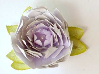 How to Make a Paper Camellia Flower