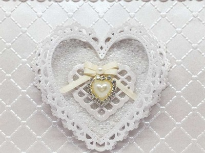 How To Make A Pearl Wedding Anniversary Card - DIY Crafts Tutorial - Guidecentral