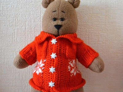 How To Make A Warm Jacket For A Toy Bear - DIY Home Tutorial - Guidecentral
