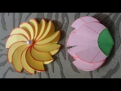 How to Make Easy Paper Flowers | How to Make Easy Paper Flowers + Tutorial