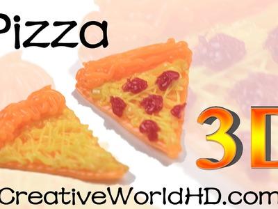 How to Make Pizza - 3D Printing Pen Creations.Scribbler DIY Tutorial.Creative World