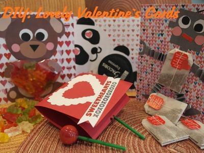 How to make Valentine`s Day Cards! Süße Valentinskarten selber basteln!