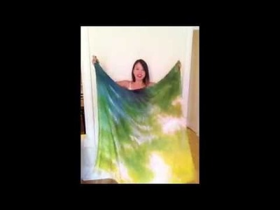 How to Tie a Scarf into a Dress (USING 2 SCARVES)