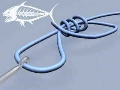 How to Tie a Uni Knot Fishing knot