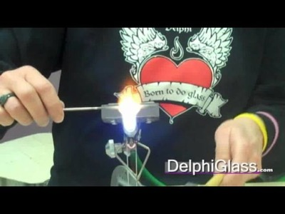 How to Use Frit to Decorate a Glass Bead | Delphi Glass