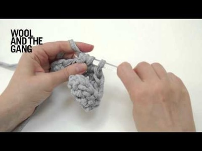 How to work half double crochet