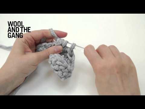 How to work half double crochet