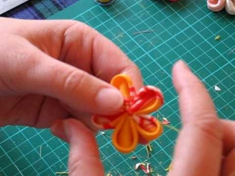 Kanzashi flower take 2