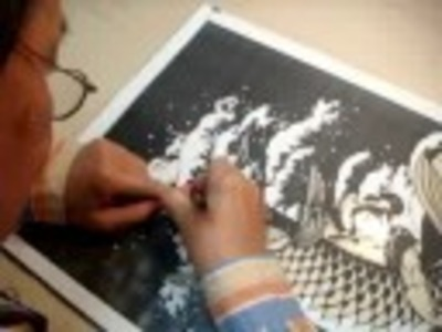 Kiri-e   the  Japanese art of paper cutting