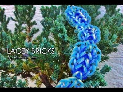 LACEY BRICKS Hook Only bracelet tutorial