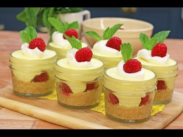 Lemon Raspberry Cheesecakes | No BAKE | Single serve or recipe for 12 | My Cupcake Addiction