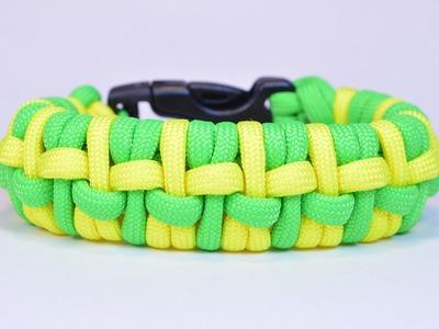"""Make the """"Humpback Fishtail"""" Paracord Survival Bracelet - BoredParacord.com"""