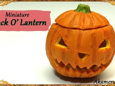 Miniature Jack O' Lantern - Polymer Clay Tutorial