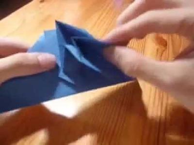 Origami 3d star.omega star by John Montroll