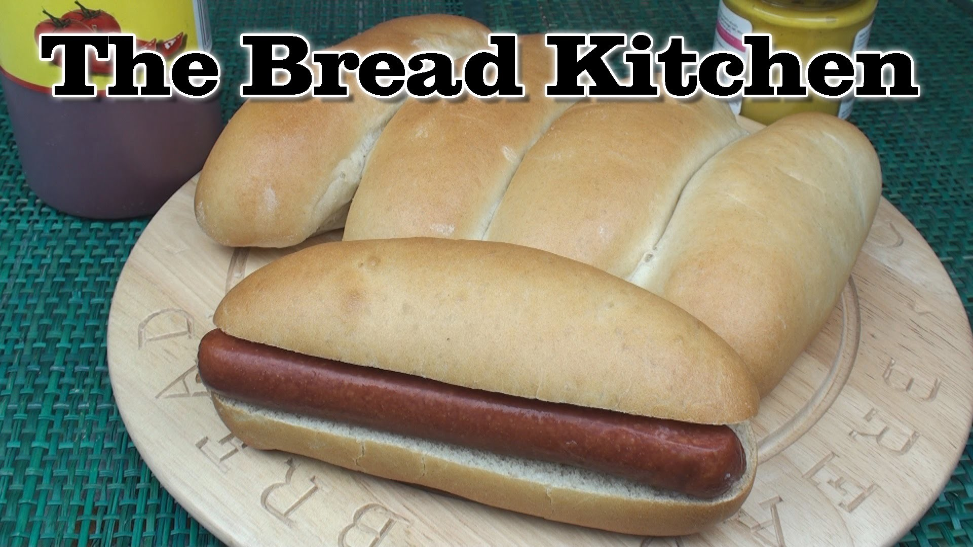 Perfect Hot Dog Bread Rolls Recipe in The Bread Kitchen