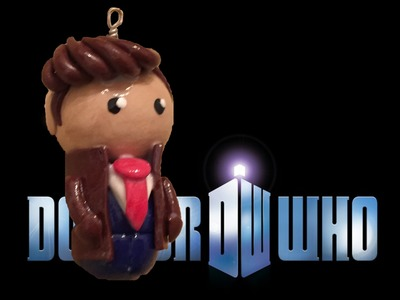 Polymer Clay 10th Doctor (BBC Doctor Who Tutorial)