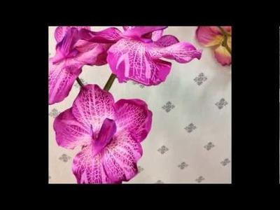 Real touch orchids,silk flowers,Bride Brooch Bouquets,wedding arch,DIY foam balls