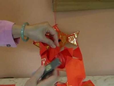 Red Pocket Fish Lantern (Chinese)