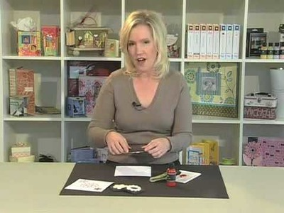 Scrapbook.TV - How to Stamp Using Foam Stamps with Acrylic Paint