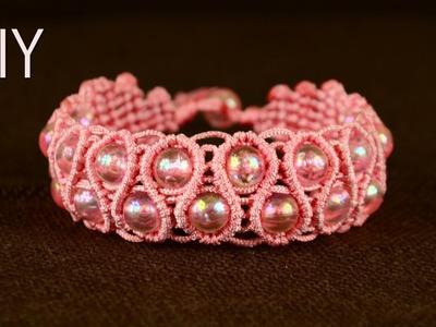 Snaky Macramé Bracelet Tutorial