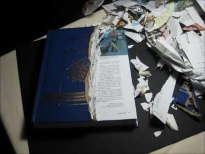 Stop Motion Book Sculpture