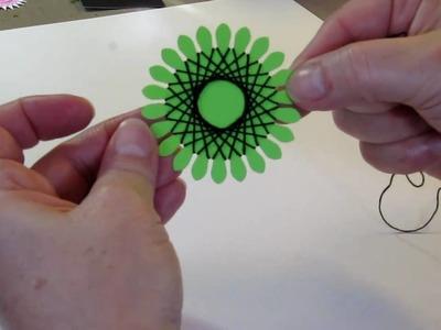 String Art Flower Tutorial