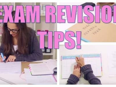 Study Tips & DIY Organization for School ♡