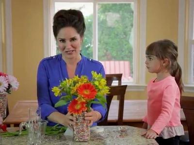 Tanya Memme DIY: Cupcake Sprinkles Vases