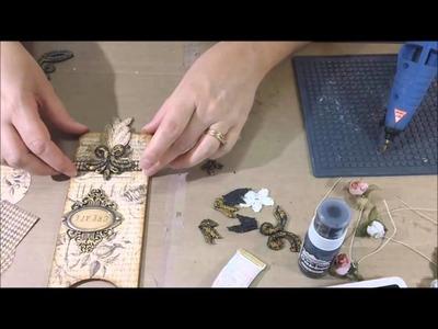 Tresors de Luxe DT Project #1 - Vintage Door Hanger - Process Video