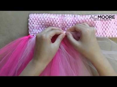 Two More Minutes: How to Make a Breast Cancer Awareness Tutu