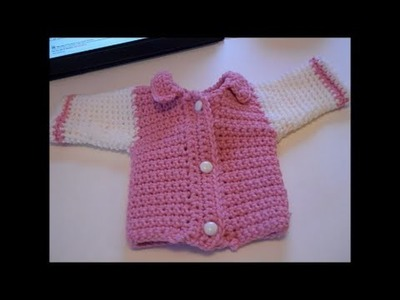 """Walking the Dog for Dolls - Fall Outfit for 18"""" Dolls Crochet Pattern Tutorial Part 1"""