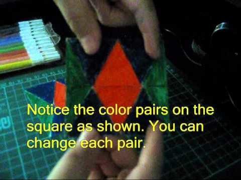 3 Paper Toys Tutorial - Hexaflexagon