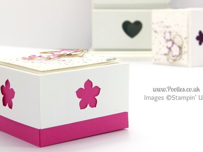 3x3 box for Swaps for US Stampin' Up! Convention 2014 Tutorial